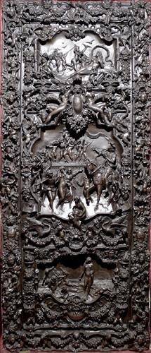 The most important bronze sculpture door ever