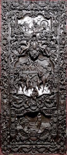 The most important bronze sculpture door ever