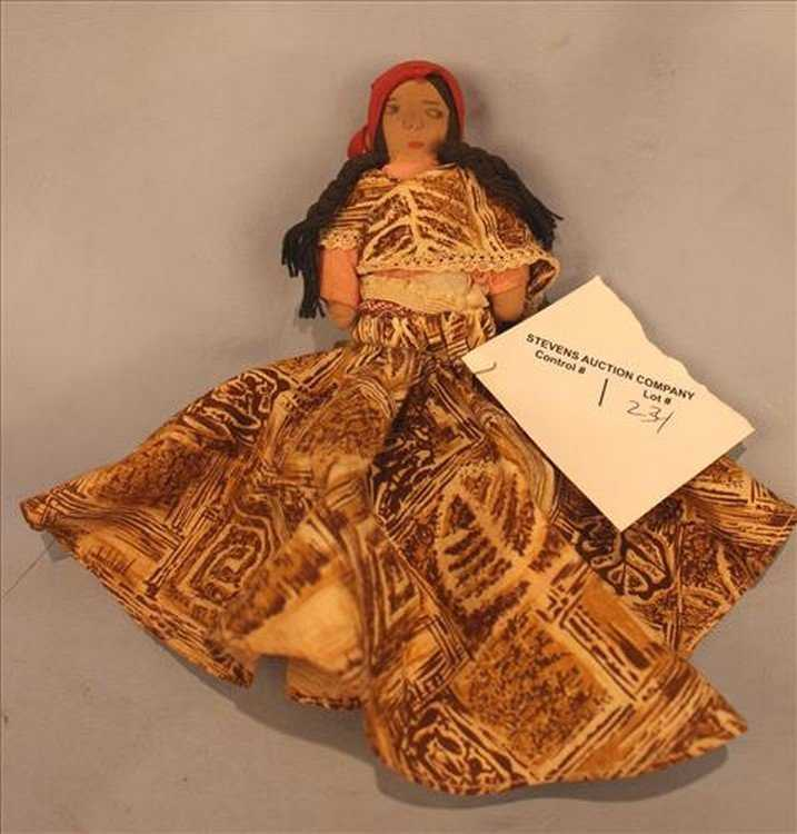 Authentic old voodoo doll from New Orleans
