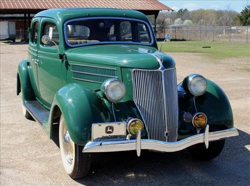 1936 Ford Sedan, all original interior, runs perfectly