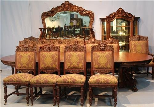 15 piece rare Horner dining room suite