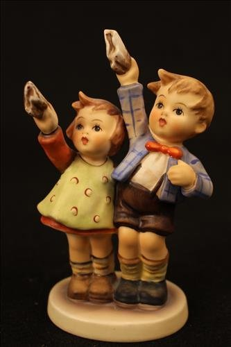 Hummel porcelain doll - AUF Wiedersehen