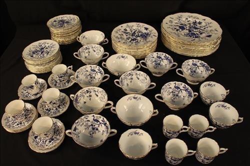 77 piece Coalpart china, Cairo pattern - 2