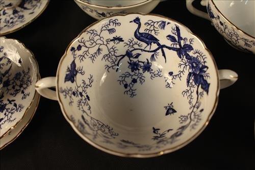 77 piece Coalpart china, Cairo pattern - 3