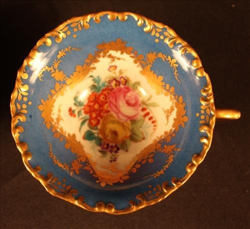 24 piece Sevres dessert set with coffee cups - 3