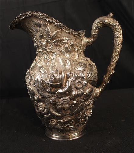 Pitcher in sterling silver by Schofield & Co.