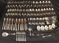 125 piece set flatware, Grande Baroque by Gorham