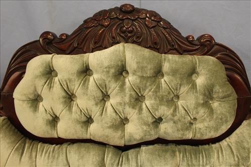Exceptional period mahogany Empire parlor sofa - 3