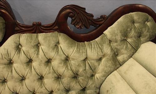 Exceptional period mahogany Empire parlor sofa - 4