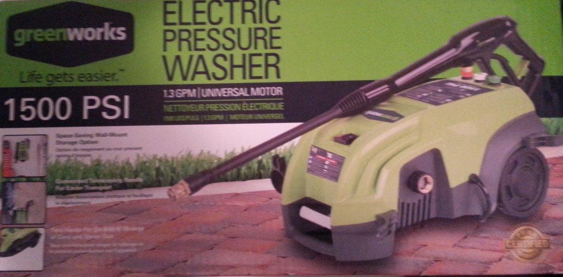 1500 psi Electric Powerwasher