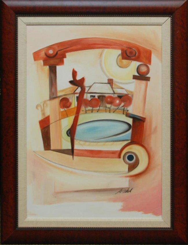 ALFRED GOCKEL - Original Painting