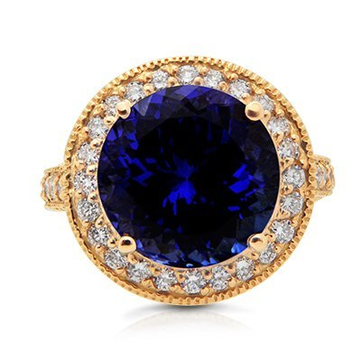 Beautiful Tanzanite & Diamond Rings