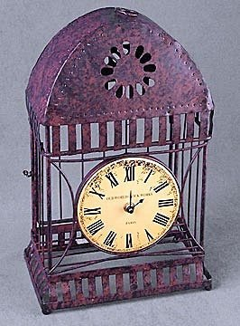 Cast Iron Clock (13801)