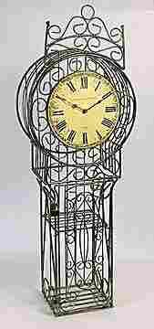 Cast Iron Clock (13807)
