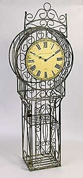 Cast Iron Clock (13807)