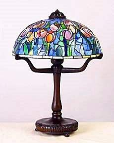"""Lamp with 12"""""""" Tulip Shade (11069)"""