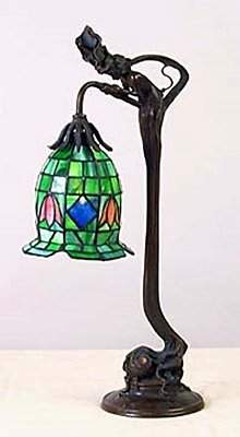Small floral Lamp (11075)