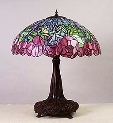 "Lamp with 22"""" Shade (11726)"