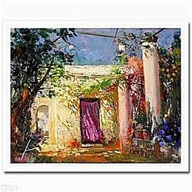 """PINO HAND SIGNED # """"IN THE SHADOWS"""" Giclee on Paper"""
