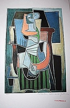 Limited Edition Picasso - Abstract - Collection Domaine