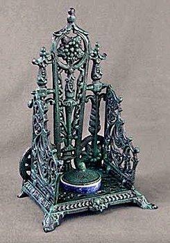 Cast Iron Inkwell (13665)