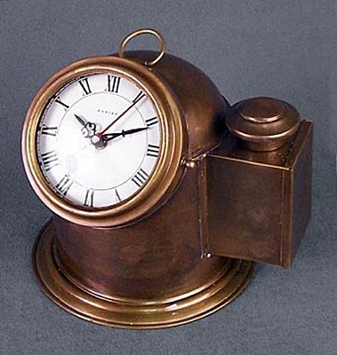 Brass Binnacle Clock (51329)