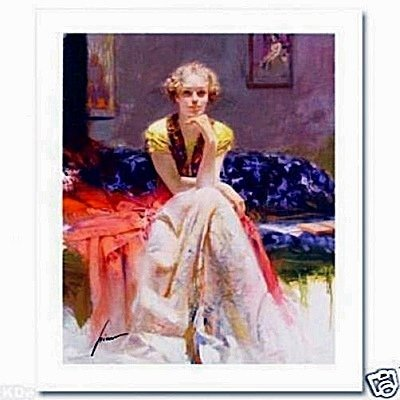 "Pino ""ENCHANTMENT"" LE Hand Signed/# Giclee on Canvas"