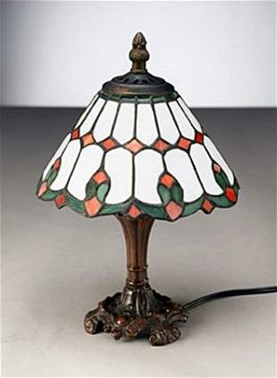 Red, Green-Bedside Lamp (11173)