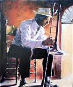 """Aldo Luongo """"New Orleans Blues"""" Stretched Jazz Musical"""