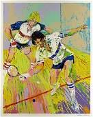 "Leroy Neiman S/N ""Racquetball"" Sports Racquetball"