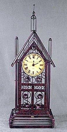 Wire Clock (13802)