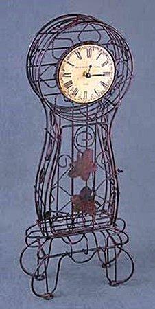 Metal Clock (13808)