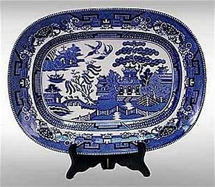 Blue Willow Platter (1085)