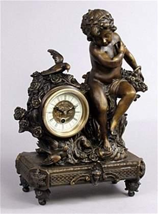 Cherub clock (26437)
