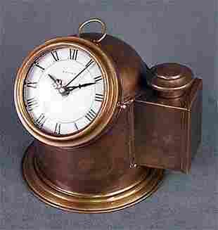 Brass Binnacle Clock (51329)
