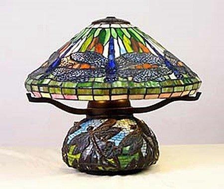 Dragonfly Mosaic Lamp (11152)