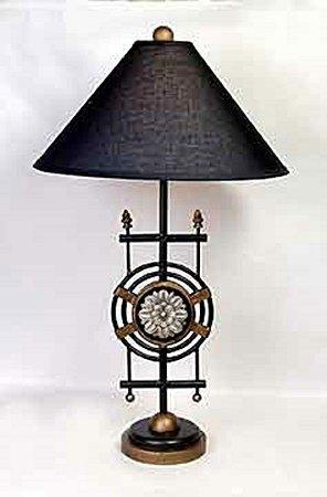 Medallion Base Lamp (50662)