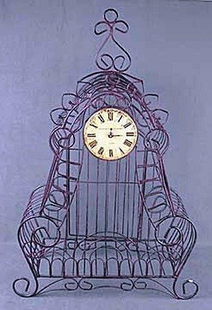 Cast Iron Clock (13809)