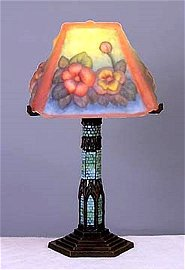 Floral Puffy Lamp (50016)