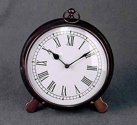 Antique Copper Clock (51186)
