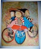 "Gracil Rodo Boulanger Hand S/N Lim Ed ""THREE BICYCLES"""
