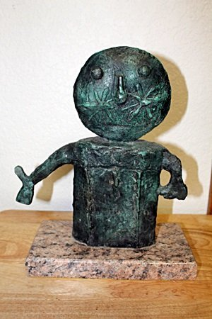 Bronze Sculpture by Artist  RUFINO TAMAYO (16T)