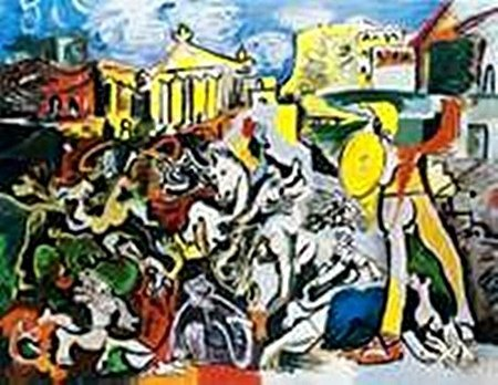 The rape of the Sabine Women-Collection Domaine Picasso