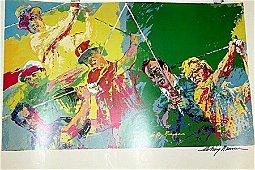 GOLF CHAMPIONS BY LEROY NEIMAN (31DG)