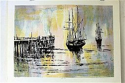 """Lobster Traps"" By Artist Annunziata.(BO)"