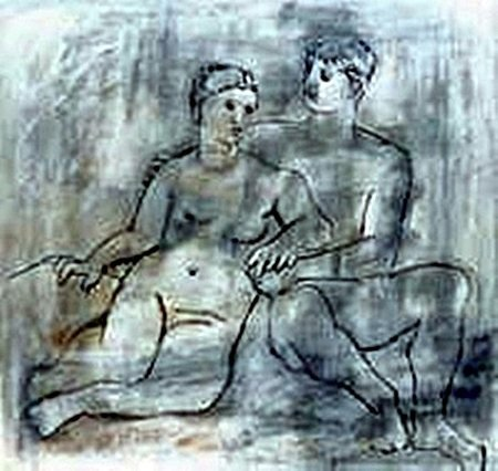 The Lovers-Collection Domaine Picasso