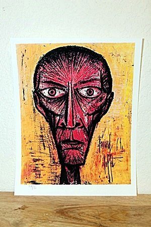 """""""Red Man"""" By Bernard Buffet.(CC)"""