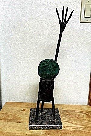 Bronze Sculpture by Artist  MIRO (11T)