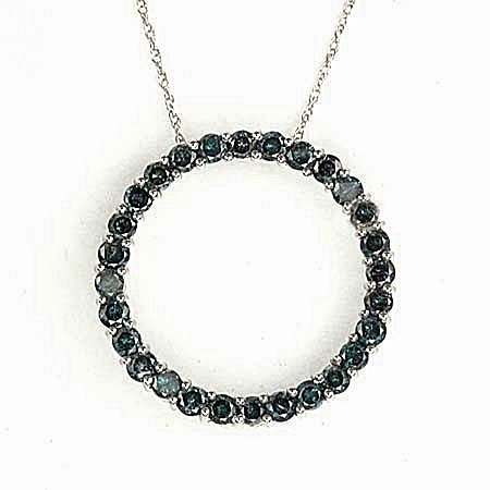 Circle of Love Pendant & Necklace10kt  (ND241)