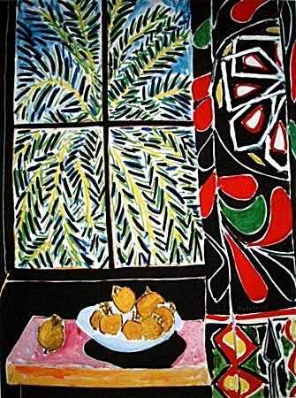 Limited Edition The Egyptian Curtain -By Matisse (5CQ)